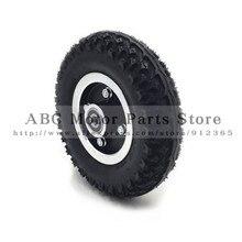 """Размер шин 8X"""" и внутренняя труба 200X50 полный колеса внедорожные шины для электрического скутера колеса стул грузовик пневматическая тележка"""