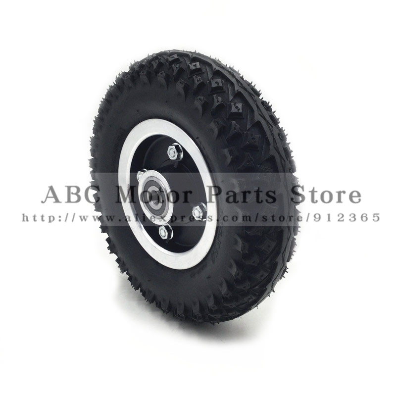 Tire Size 8X2 and Inner Tube 200X50 Full Wheels Off Road Tyre for Electric Scooter Wheel Chair Truck Pneumatic Trolley Cart