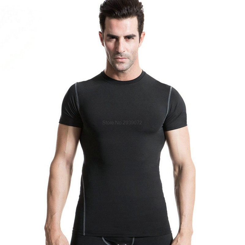a1f6cac13b New Lulu Elastic Yoga shirts Tops Sports Apparel Fitness Tanks Sport t shirt  Man Gym Athletic Workout Running Clothes For Men