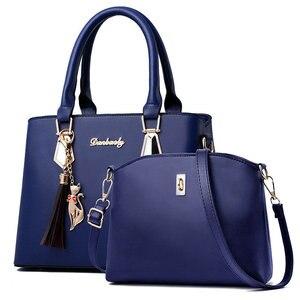 Image 4 - Bolso de mujer a la moda para primavera y otoño, bolso cruzado de hombro para mujer, sencillo y versátil, C41 67