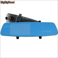 BigBigRoad Pour Acura mdx tsx rdx tl rl rsx Voiture DVR bleu Écran Rétroviseur Vidéo Enregistreur De Voiture Double Caméra Boîte Noire