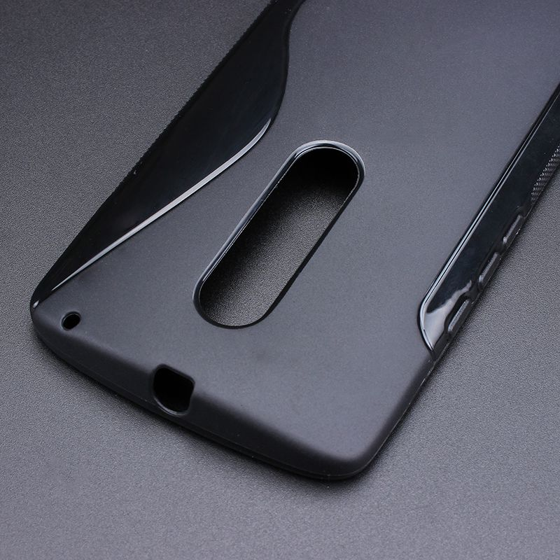 S-Line Anti Skidding Gel TPU Slim Soft Case Back Cover For Motorola Moto X Play XT1561 XT1562 Mobile Phone Rubber silicone Cases