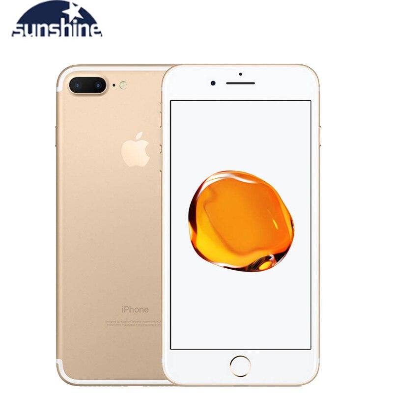 Apple iPhone 7/iPhone 7 Plus разблокированный оригинальный четырехъядерный мобильный телефон 12.0MP камера 32G/128G/256G Rom IOS отпечаток пальца телефон