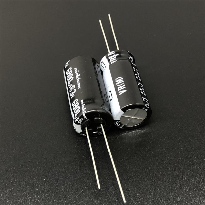5pcs 6800uF 6.3V NICHICON VR Series 12.5x25mm 6.3V6800uF Aluminum Electrolytic Capacitor