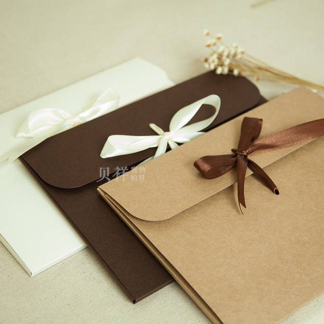2016 natural paper gift envelope for wedding birthday and christmas