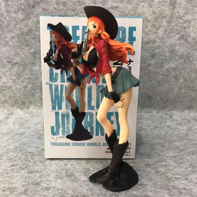 One Piece Nami Vaquera Figura de Acción