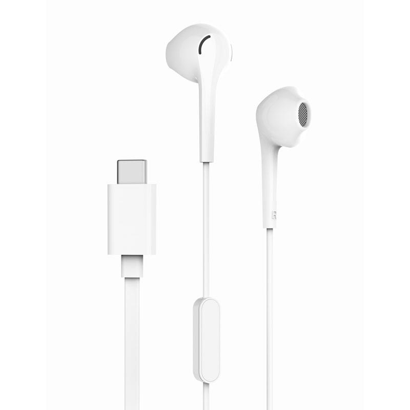 Original CDLA Type C Earphone Digital Wired Control Lossless Audio Earbuds Headset with Mic for letv