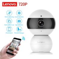LENOVO Schneemann Ip-kamera WiFi Drahtlose Mini HD 720 P Security-kamera Babyphone & IR-CUT Überwachungskamera Bewegungserkennung