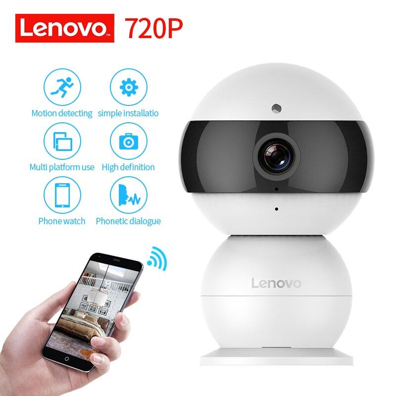 LENOVO Snowman IP font b Camera b font WiFi Wireless Mini HD 720P Security font b