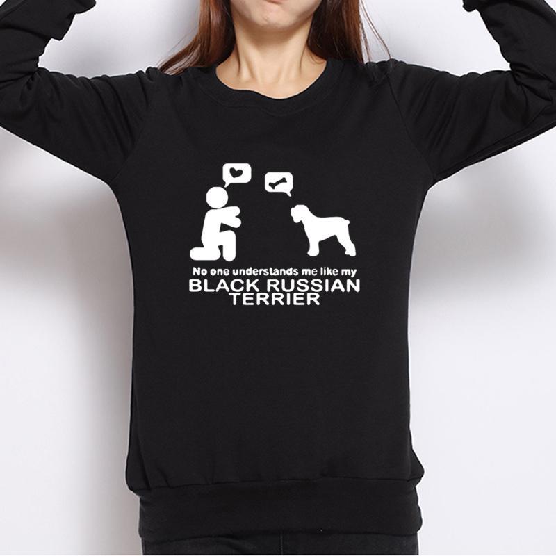 Baby Bettwäsche Mutter & Kinder Sporting Lustige Frauen Hoodies Mode Harajuku Sweatshirts Kreative Herbst Design Weibliche Hoodie 2019 Versteht Russische Terrier Eine Hohe Bewunderung Gewinnen