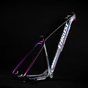 Image 3 - דחף אופניים פחמן מסגרת אופני mtb מסגרת 29er 27.5er 15 17 19 BSA BB30 מחודד הרי אופני מסגרת 2 שנה אחריות 8 צבעים