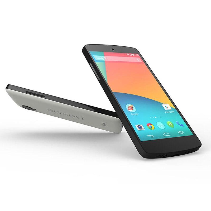 Цена за Оригинальный Google LG Nexus 5 D820 D821 ЕС издание Сотовый Телефон 3 Г 4 Г lte GPS NFC Quad Core 2 ГБ 16 Г 32 Г 4.95 ''Сенсорный Разблокирована телефон