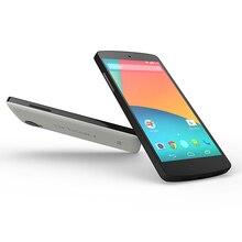 Original Google LG Nexus 5 D820 D821 EU edition Cell Phone 3G 4G lte GPS NFC Quad Core 2GB 16G 32G 4.95'' Touch Unlocked Phone
