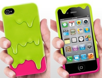 6 Color,2014 Cute 3D Melt Ice Cream Style Detachable Hard Protective Back Cover Skin Case iPhone 4 4S - Shenzhen CY group co., LTD store