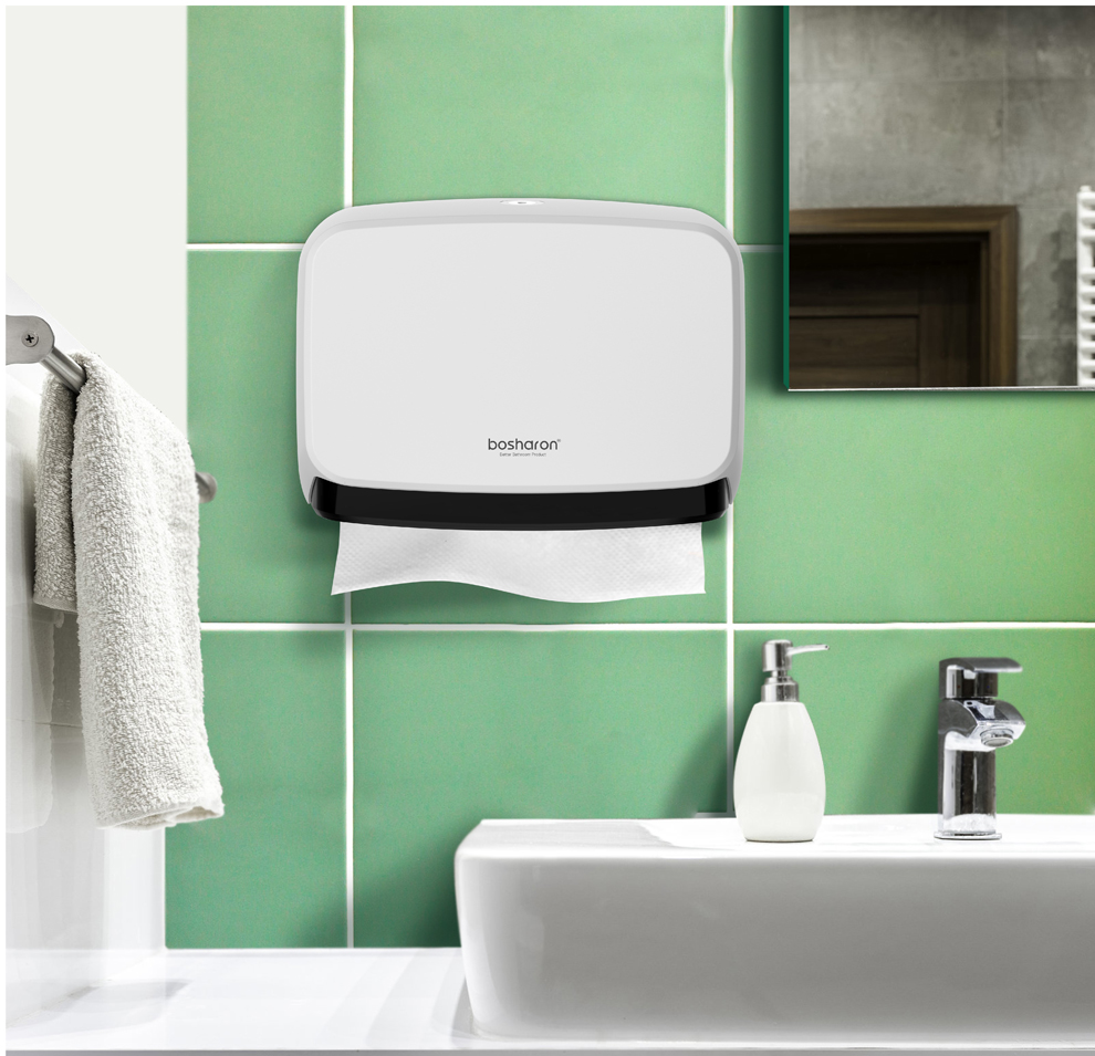9a9fd54842d 2019 Bathroom Kithen Paper Towel Dispenser Wall Mount NEW ABS Thick ...