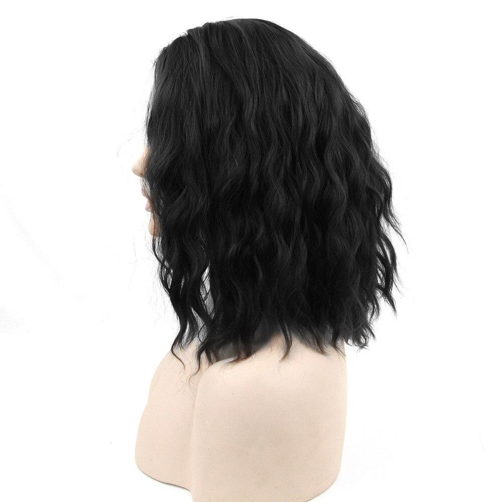 Soloowigs Curly Women Middle Part Cosplay Ingen Spetsparykar Hög - Syntetiskt hår - Foto 4