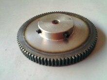 Цилиндрические шестерни 150 Т 1 мод зубчатая рейка 150 зубов диаметр 10 мм шпоры точность передач 45 стали чпу стойки и шестерни