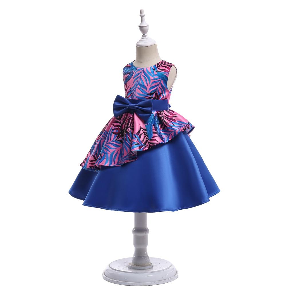 HIBYHOBY 2018 New Girl Formalne Wesele Sukienki Dzieci Princess - Ubrania dziecięce - Zdjęcie 3