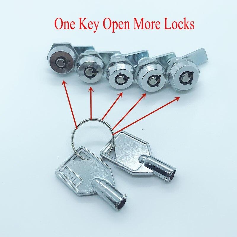 10pcs Mailbox Mini Locks Game Equipment Cam Lock Milkbox Industrial ...