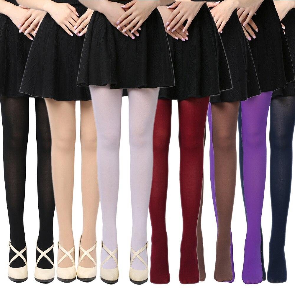 fd78c5807 2019 Hot Sale Winter Warm Women Stockings Beauty Girls 120D Thick ...