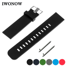 Silicone Rubber Watch Band 18mm 19mm 20mm 21mm 22m for Fossil