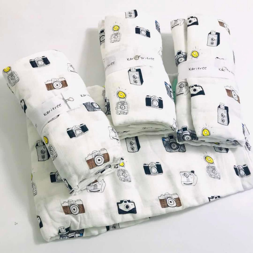 Baby Blanket  Baby Muslin Diaper Muslin Swaddle Blankets Quality Better Aden Anais Baby Bath Towel Cotton Blanket Infant Wrap
