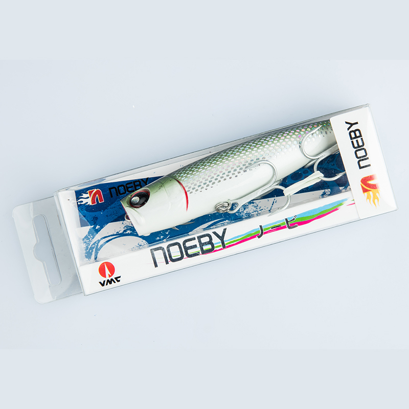 Noeby 2 teile / los Popper Fischköder 105mm / 24g Sea Fishing Tackle - Angeln - Foto 5