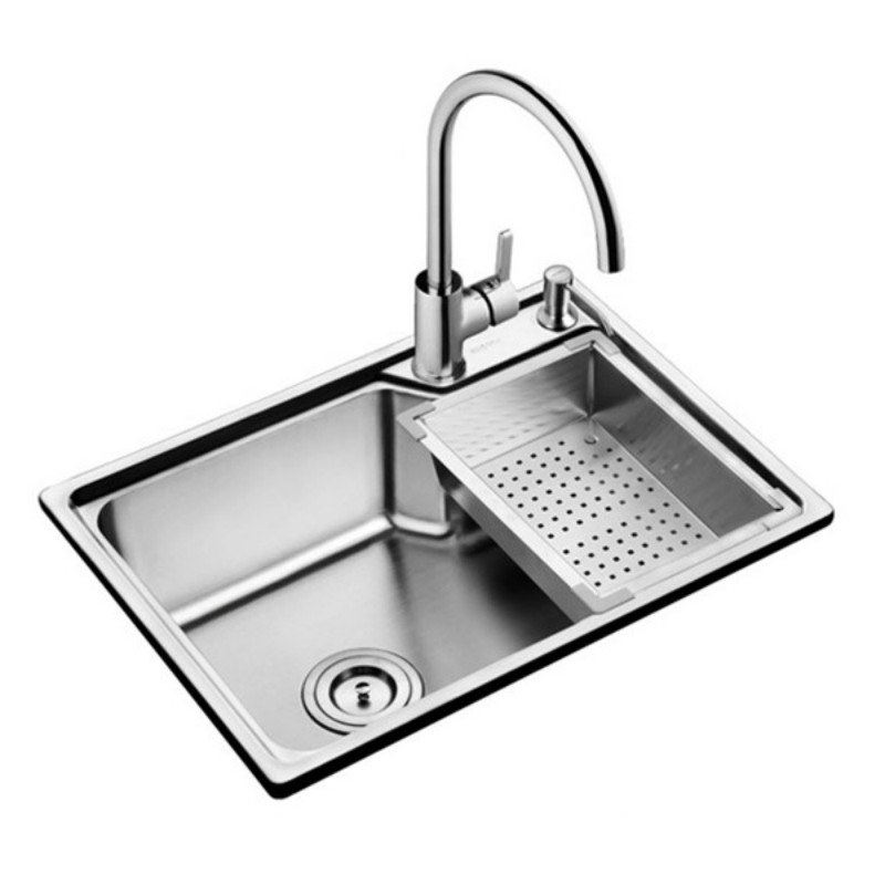 304 Stainless Steel Brushed Matte Kitchen sink with Drain Assembly Waste Strainer Basket Faucet Dispensor mx3281632304 Stainless Steel Brushed Matte Kitchen sink with Drain Assembly Waste Strainer Basket Faucet Dispensor mx3281632