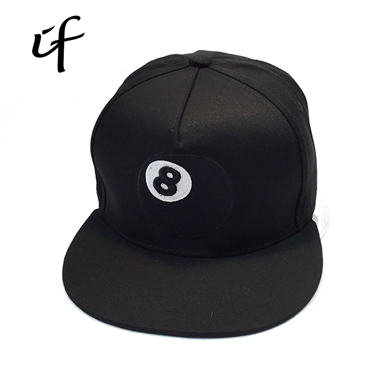 [illfly] Baseball Cap Man Woman Black Cotton Hat Hiphop Street Fashion Hip Hop hats snapback casquette Bone Dad Hats Gorras