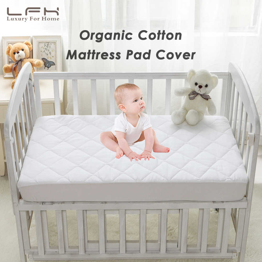 Nursery Crib Cradle Baby Mattress cot Crib Size 80 x 36 x 4 cm Breathable Quilted and Waterproof Foam Mattress for cot