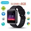 Lemse K1 Bluetooth 4.0 Smart watch Android 5.1 WI-FI Точные GPS nano SIM WCDMA Наручные Для Huawei xiaomi Android phone