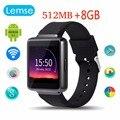 Lemse k1 bluetooth 4.0 smart watch android 5.1 wifi gps precisa nano sim relógio de pulso para huawei xiaomi wcdma android telefone