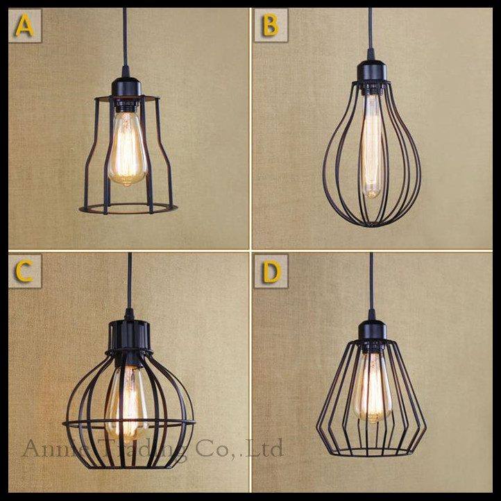 Free shipping American Vintage Lamps Personality Balcony Wrought Iron Pendant Lights,Vintage Edison Pendant Lamps hanglamp luz free shipping american loft vintage lamps personality balcony wrought iron pendant lights vintage edison pendant lamps