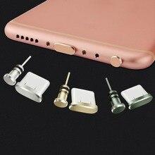 9a699edcdfc9c7 Typ-C Portu Ładowania Telefonu 3.5mm Gniazdo Słuchawkowe Karty Sim Typu C Anti  Pyłu Wtyczka Dla Samsung S9 s8 A5 A7 2017 Huawei .