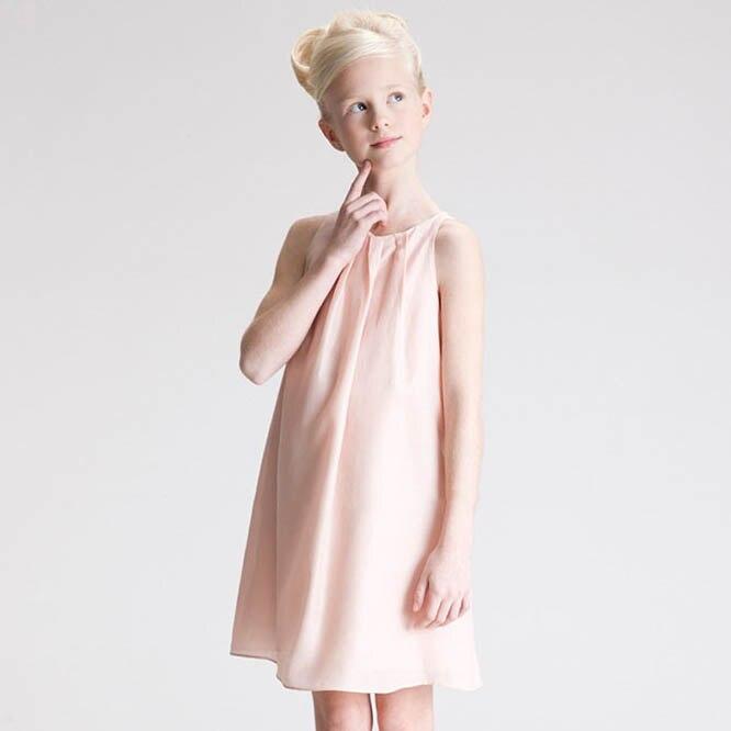 लड़कियों गर्मियों शिफॉन - बच्चों के कपड़े