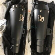 ZX6R GSXR750 Z900 ER6N NC700 R3 CBR300 RC390 Z800 R6 R25 CBR250R CBR500RR Left/Right Universal Motorcycle Akrapovic Exhaust Pipe motorcycle exhaust muffler for gp exhaust mufflers carbon fiber exhaust pipe for zx6r z900 rc390 r6 r3 gsxr750 sv650 ninja250r