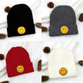 Men Women Emoji Beanie Knit Ski Cap Hip-Hop Winter Warm Hat Funny beanie caps Chapeu Feminino