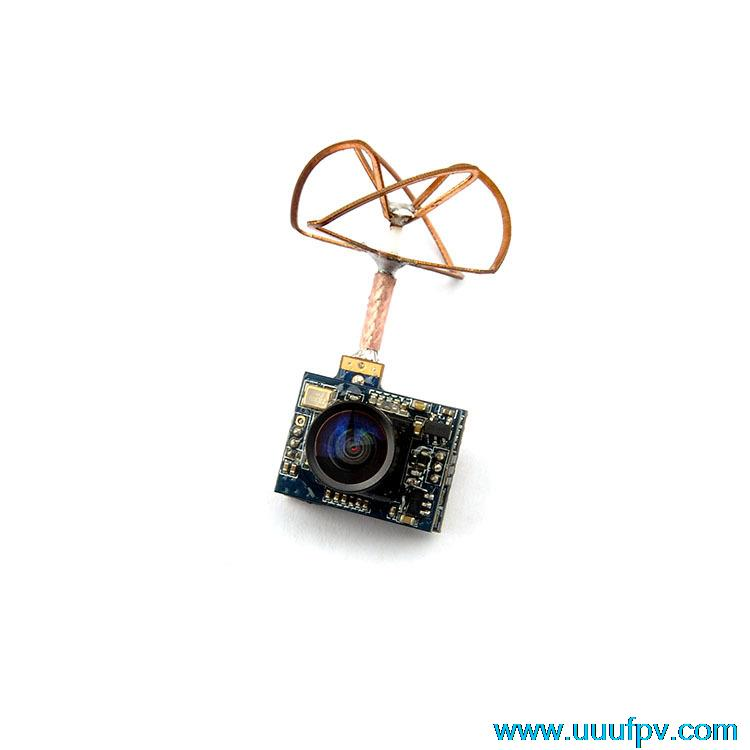 5.8G 25mW Transmitter 32CH AV Mini PhotosTransmission with 520TVL Camera PAL Format Better Than FX797T Radio Transmitter