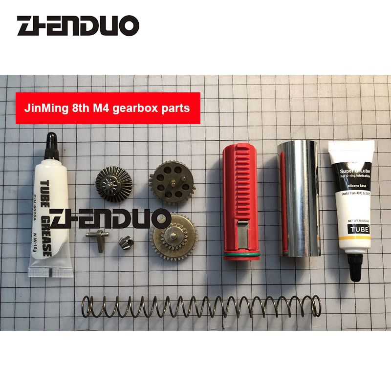 Zhenduo Toy Jinming M4A1 8 Generation Upgrade Accessories for Electric Blaster Toy Gun