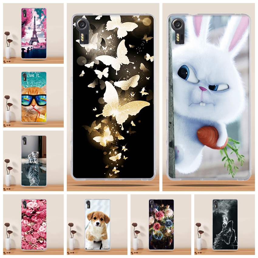 For Lenovo Vibe Shot Case Soft TPU Lenovo Vibe Shot Z90 Cover Phone Shell For Lenovo