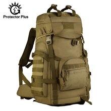 60l saco militar dos homens tático mochila de viagem acampamento escalada montanhismo saco esporte ao ar livre molle saco do exército xa805wa