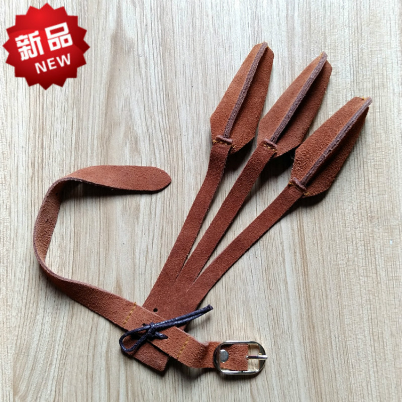 Arrow Refers To The New Listing Leather Three-finger Set Of The Mediterranean High-end Gloves Bow Archery Slingshot new smith minecraft arrow action figure toy pixel mosaic bow and arrow assembled set of juguetes anti stress toys for kids