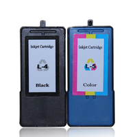 1set Hot 4 5 Black Color Compatible Ink Cartridge For Lexmark X2690 X3690 X4690 X5690 Printer