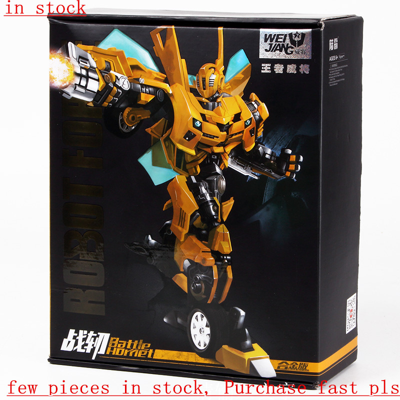 in stock New Arrival Weijiang M03 Battle Blades Battle Hornet mp21 Transformation metal alloy part figure toys weijiang deformation mpp10 e mpp10 eva purple alloy diecast oversized metal part transformation robot g1 figure model in box
