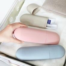 1 шт., портативный чехол для зубной щетки, чехол для зубной щетки для путешествий, походная защитная коробка для хранения, чашка для мытья, косметический чехол для капсул