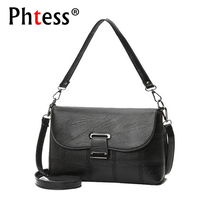 PHTESS High Quality Women Messenger Bags Crossbody Bags For Women Leather Handbags Shoulder Bag Sac A
