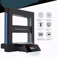 Jgaurora A5 Профессиональный 3D принтеры высокая точность 2.8 дюймов HD Сенсорный экран Поддержка usb stick mini Desktop печатная машина
