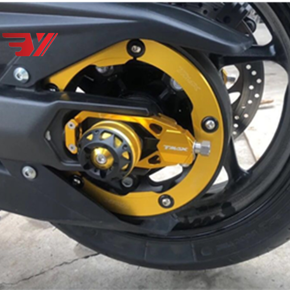 CNC Transmission Belt Pulley Carbon Cover For Yamaha TMAX 530 2012-2015 T-max530