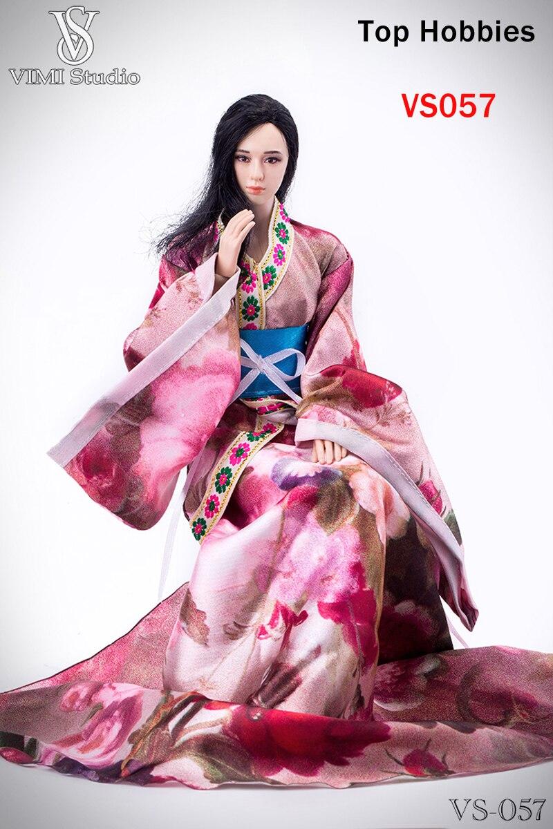 16 Hermoso Rosa Vestido Mujeres Vimi Sirvienta De Ropa Antiguo 3S5L4AjcqR