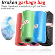 1 Rolls Paw Printing Dog Poop Bag Large Cat Waste Bags Doggie Outdoor Home Clean Refill Garbage